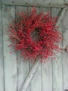 Ilex wreath