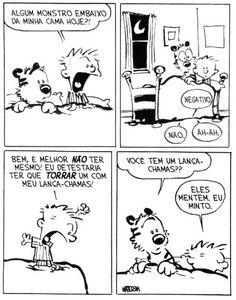 Calvin e Haroldo: Tirinha nº 8
