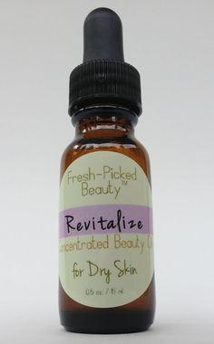 Revitalize Concentrated Beauty Oil for Dry Skin