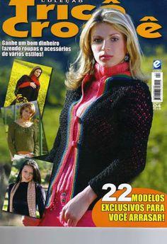 Tricot y crochet N°04 - claudia Rabello - Álbuns da web do Picasa