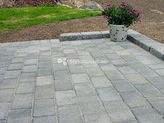 Asak Borgstein Gråmix4 Sidewalk, Garden, Outdoor Decor, Yard, Patio, Modern, Stones, Garten, Side Walkway