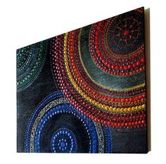 Mandala intuitive paintings mandalas dot painting by InwardArt