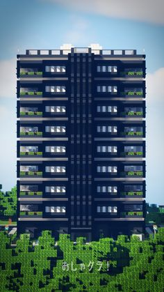 Minecraft Modern City, Minecraft City Buildings, Minecraft Mansion, Cute Minecraft Houses, Minecraft Structures, Minecraft Anime, Amazing Minecraft, Minecraft House Designs, Minecraft Architecture
