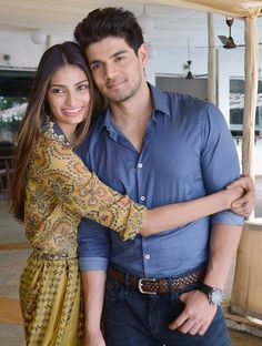Sooraj Pancholi and Athiya Shetty at #Hero promotions. #Bollywood #Fashion #Style #Beauty #Handsome
