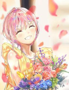 Go-Toubun no Hanayome Pretty Anime Girl, Beautiful Anime Girl, Kawaii Anime Girl, Anime Art Girl, Anime Girls, Manga Girl, Chica Anime Manga, Persona Anime, Anime Flower