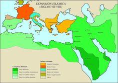 Atlas Histórico: Antigüedad Tardía e inicio de la Edad Media Islam, Expansion, Medieval, The Expanse, Google, Blog, Maps, Socialism, Abbasid Caliphate