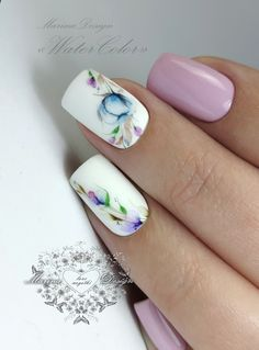 Nailart, Manicure, Painting, Beauty, Flower Nails, Makeup, Stickers, Water Colors, Ongles