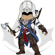 Assassin's Creed 3: Connor Chibi