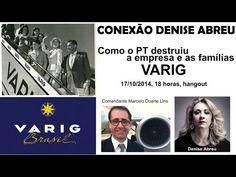 HANGOUT BOMBA no Conexão Denise Abreu: a disputa que matou a Varig