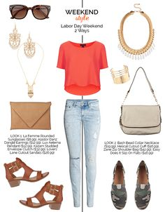 Weekend Style Casual End of Summer