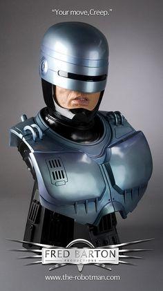 Robocop Statue   Own A Bust Of The Detroit Robocop Statue