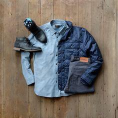 Jacket:PLRB Official //Shirt:Jachs NY //Denim:Loyal Collective //Boots:Bullboxer //Socks:Step Into Life Socks