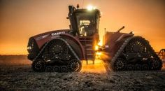 CASE IH Steiger Rowtrac. Photography by Relentless, Inc.