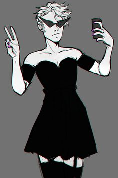 That moment when a fictional character can wear a dress better then you