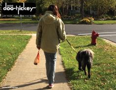 Dog Doo-Hickey, Let your leash Doo the work!