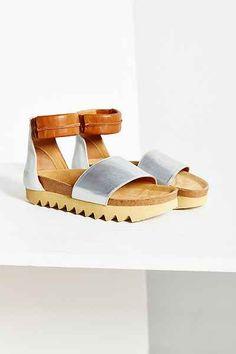 Lumi Brigitta Cork Sandal - Urban Outfitters