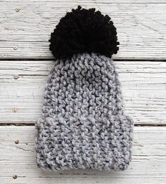 Grey-knit-pom-hat inspiration