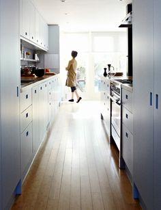 London Kitchen Renovation, Bamboo Floor   great article on installing bamboo floors  Remodelista