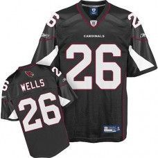 a3650e732 Cardinals  26 Chris Wells Black Stitched NFL Jersey Nfl Arizona Cardinals
