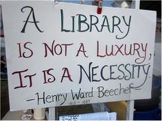 Images for the Occupy movement's libraries.