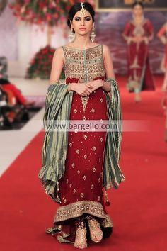 Online Shop For Pakistani Designer Dresses by Mehdi 2013 at Pantene Bridal Couture Week Edison NJ