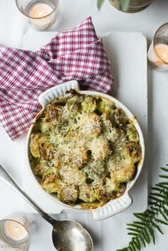 Creamy Brussel Sprouts... | DonalSkehan.com