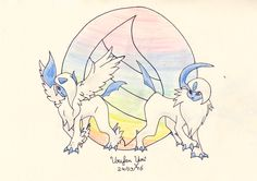 Pokemon: Absol and Mega!Absol