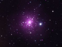The galaxy cluster is known as Abell 383 and it is found about 2.3 billion light years from Earth.