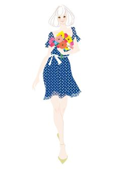 Takako Original #illust #illustration #fashionillustration #Takako