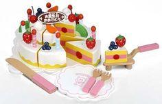 木製おままごと ハッピーケーキ TY0407:Amazon.co.jp:おもちゃ