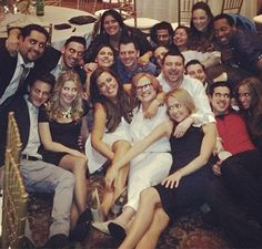 On Friday, the pair, who got engaged on November 12, were honored lavishly with an engagement party that took place at the Brownstone, the Manzo family business.  The daughter of former Real Housewives of New Jersey star Caroline Manzo and owner of Cafface Beauty Bar, who is currently filming the family spin-off show Manzo'd With Children, beamed with excitement as she entertained her guests.
