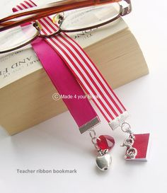 Teacher Bookmark by Made4yourBooks on Etsy, £7.75