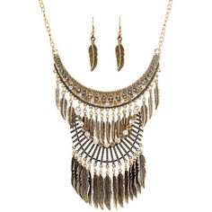 Ruby Rocks Jewellery Oversized Gold Plated Bohemian Necklace ($44) ❤ liked on Polyvore featuring jewelry, necklaces, neutral, long necklace, oversized chain necklace, long chain necklace, statement necklace and pendants & necklaces