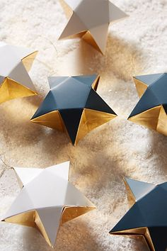Dangling Star Gift Boxes #anthrofave #anthropologie.com
