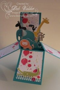 card-in-a-box-Zoo-babies-gorgeous-grunge