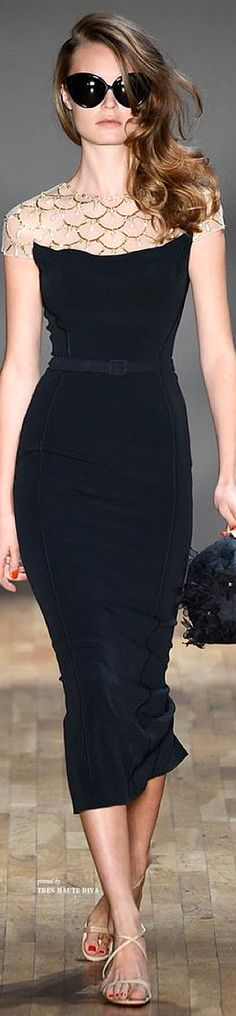 Jenny Packham, New York Fashion Week, Frühjahr-/Sommermode 2015 New York Fashion, Fashion Week, Look Fashion, Fashion Show, Fashion Design, Classic Fashion, Couture Mode, Style Couture, Couture Fashion
