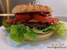 """Burgere a la Jamie Oliver (fra bogen """"Jamies Amerika"""", Forlaget Lindhardt og Ringhof)………"""