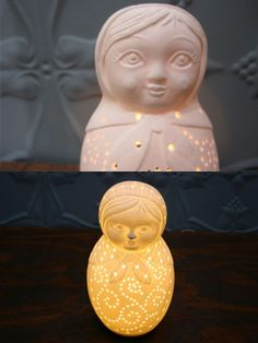 Russian Doll Lamp. LOVE!! Where can I get me one of these??!!!!