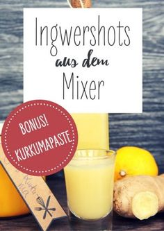 Quick ginger shot recipes: 3 brilliantly simple ideas to make yourself Nicole Just - Vegan Recipes - Vegan cooking made easy Smoothies For Kids, Vegan Smoothies, Smoothie Recipes, Detox Drinks, Healthy Drinks, Healthy Tips, Healthy Eating Challenge, Lemon Benefits, Shellfish Recipes