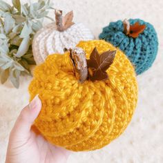 How to Crochet a Pumpkin - Free Pattern • A Plush Pineapple