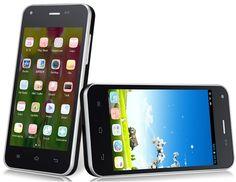 """Jiayu F1 4.0 """"tela capacitiva TFT Touch 800x480 Android 4.2 Dual Core 1.0GHz MTK6572X 512MB RAM e 4GB de ROM Smartphone 3G com Wi-Fi, Bluetooth, 0.3MP e Câmera 5.0MP (Preto)"""