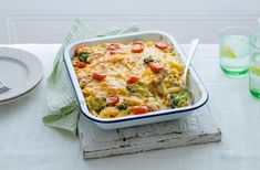 This easy tuna pasta bake recipe uses store cupboard ingredients and a simple method for a quick family dinner. See more Pasta recipes on Tesco Real Food.