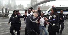 Dancers of the Week: #NYPD doing the #RunningManChallenge!