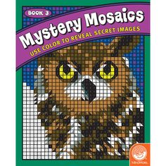 Animal Mosaics Coloring Book