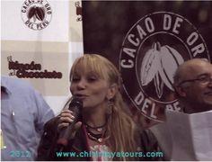 Astrid Gutsche bei der Mistura 2012 (Gastromomie Messe auf in Lima)