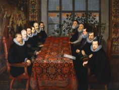 The Somerset House Conference (1604) - Great Britons - Treasures from the National Portrait Gallery, London