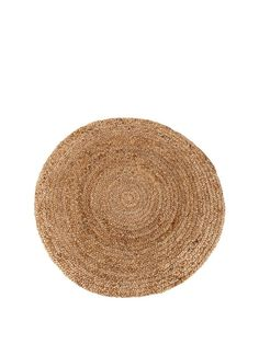 Rustic handwoven jute rug in a stylish circular shape. The rug also features a slip resistant backing to help prevent slippageCare Instructions: IncludedHeight: 133 CMMaterial Content: 100% JuteWidth: 133 CMCare Kit: NRug Shape: RugHandwovenSlip Resistant BackingNatural Fibre