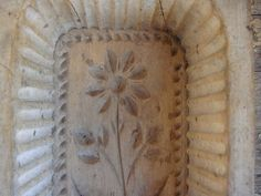 Antique German Wood Butter Mold by AspenMountainVintage on Etsy, $149.00