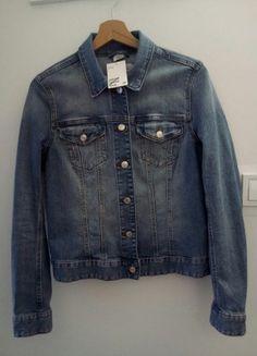 Kup mój przedmiot na #vintedpl http://www.vinted.pl/damska-odziez/kurtki-jeansowe/20316572-kurtka-jeansowa-dzinsowa-hm-40-l-katana