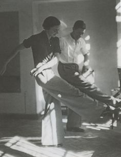 """Marianne Breslauer. Dancing, at least, even if not """"swing""""..."""